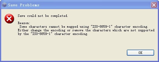 """MyEclipse中解决""""Save could not be completed""""问题! - 刘立 - 707903908的博客"""