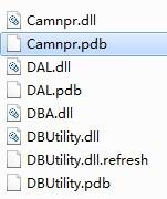 .dll并肩的有个同名的.pdb