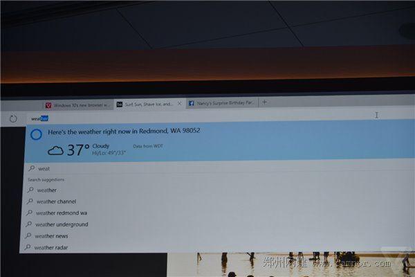 Win10系统之 Spartan 斯巴达浏览器